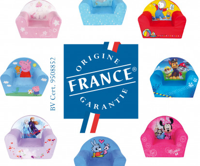 L'Origine France Garantie de nos fauteuils club